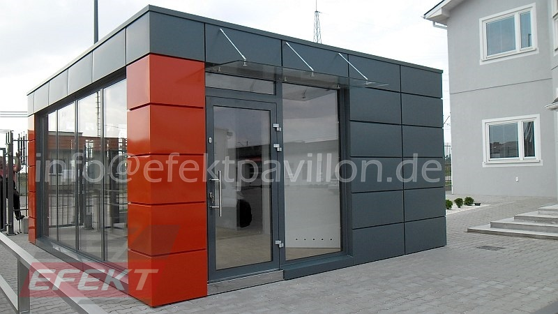 verkaufscontainer b rocontainer hersteller efekt pavillon. Black Bedroom Furniture Sets. Home Design Ideas