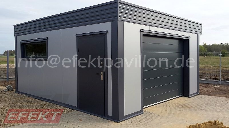 garage efekt pavillon. Black Bedroom Furniture Sets. Home Design Ideas