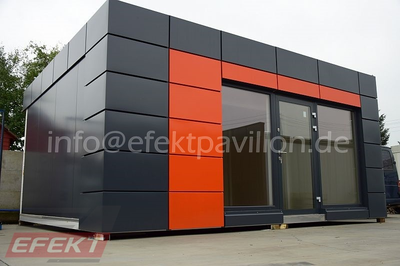 hochwertiger luxus b rocontainer verkaufsb ro kaufen preise efekt pavillon. Black Bedroom Furniture Sets. Home Design Ideas