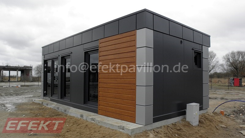 verkaufscontainer verkaufspavillon efekt pavillon. Black Bedroom Furniture Sets. Home Design Ideas